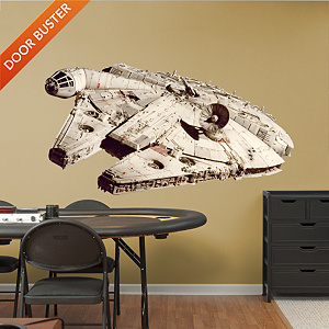 Millennium Falcon Fathead Wall Decal