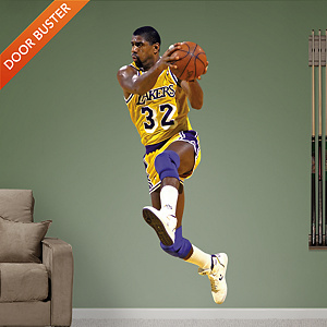Magic Johnson Fathead Wall Decal