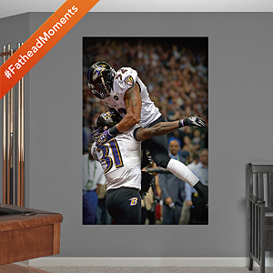 Ray Lewis – Bernard Pollard Super Bowl XLVII Celebration Mural Fathead Wall Decal
