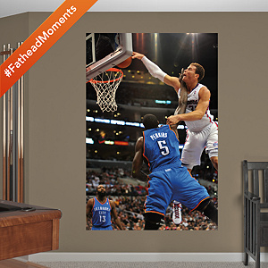Blake Griffin Thunder Dunk Mural Fathead Wall Decal