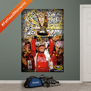 Tony Stewart 2011 Sprint Cup Champion Mural Fathead Wall Decal