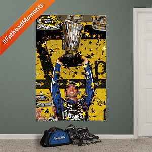 Jimmie Johnson 2013 - Sprint Cup Champion Fathead Wall Decal