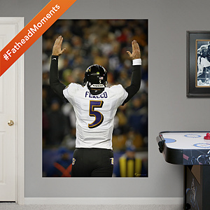 Joe Flacco Playoff Touchdown Celebration Mural