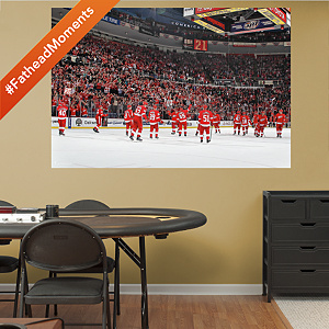 Detroit Red Wings Home Win Streak Mural