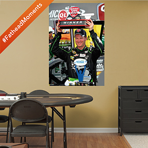 Dale Earnhardt Jr. Quicken Loans 400 Trophy Mural Fathead Wall Decal