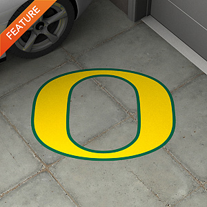 Oregon Ducks Street Grip Outdoor Graphic