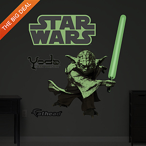 Glow in the Dark Yoda