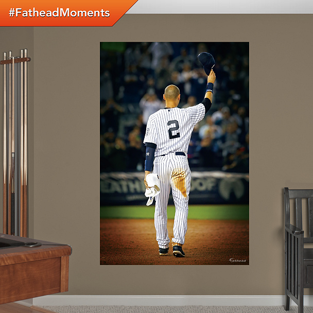Wall Mural of Derek Jeter's Curtain Call After his final home game