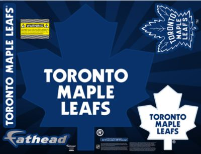 Toronto Maple Leafs Street Grip Outdoor Decal