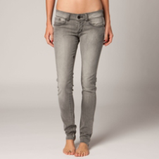 Fox Specialist Skinny Jean - Light Grey