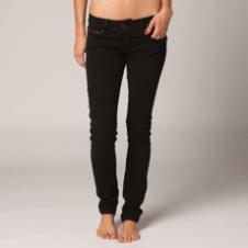 Fox Moto Doll Skinny Jean - Black Vintage