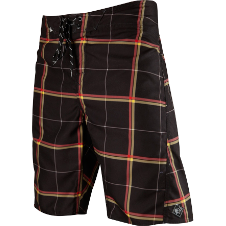 Fox Boys Lloyd Plaid Boardshort