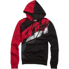 Fox Flight Zip Front Hoody
