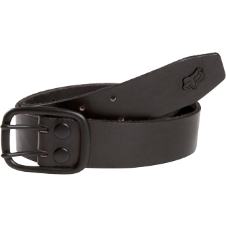 Fox Blackout Leather Belt