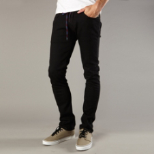 Fox T-Rex Jean - Punk Black