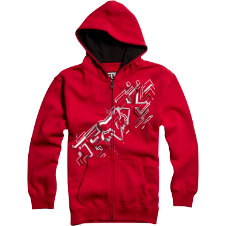 Fox Kids Schematica Zip Front Fleece
