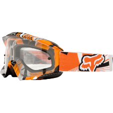 The Fox Main Undertow Orange Goggle