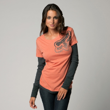 Fox Motivation 2Fer Long Sleeve