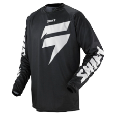 SHIFT Strike Black Jersey [Black]