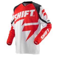 SHIFT Strike Trooper Jersey [Red/White]
