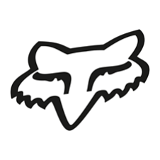 Fox Foxhead TDC Sticker 10 Inch