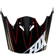 Fox FR Rampage Helmet Visor