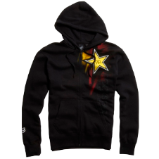 Fox Rockstar Faded Zip Front Hoody