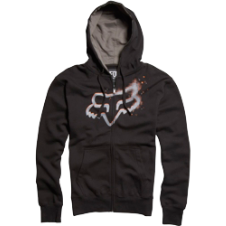 Fox Kids Pixelated Zip Front Fleece