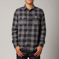 Fox Lou L/S Flannel Shirt
