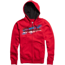 Fox Kids Sharpstreak Zip Front Fleece