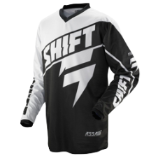 SHIFT Assault Black Jersey [Black]