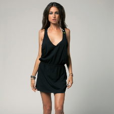 Fox Catapult Coverup Dress