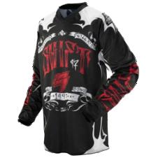 SHIFT Assault Jersey [Black/Red]