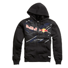 Fox Red Bull X-Fighters Strike Thru Sasquatch Zip Hoody