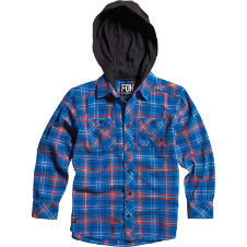 Fox Boys Dane Flannel Hoody