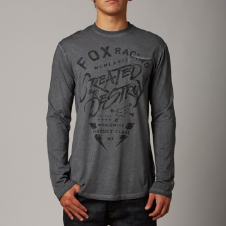 Fox Exhaust L/S Knit Tee