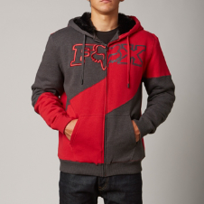 Fox Defeat Sasquatch Zip Front Hoody