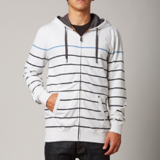 Fox Coasted Zip Front Hoody