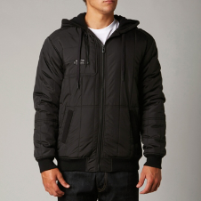 Fox Armed Zip Front Hoody