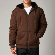 Fox Outfoxed Sasquatch Zip Front Hoody
