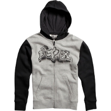 Fox Boys Unruler Zip Front Hoody