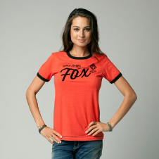 Fox Series Ringer Tee