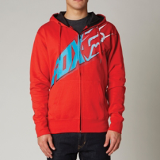 Fox Glastonbury Zip Front Hoody