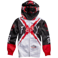 Fox Boys Bolted Full Zip Front Hoody