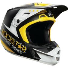 Fox V2 Rockstar Helmet