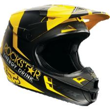 Fox V1 Rockstar Helmet