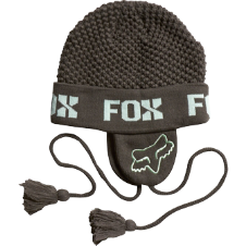 Fox Tough Earflap Beanie