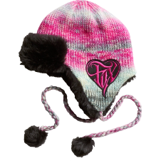 Fox Moon Star Earflap Beanie