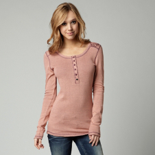 Fox Exhilarate Long Sleeve Henley