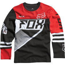 Fox Boys Racer L/S Tee